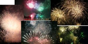 岐阜新聞開催、第72回全国花火大会が行われました